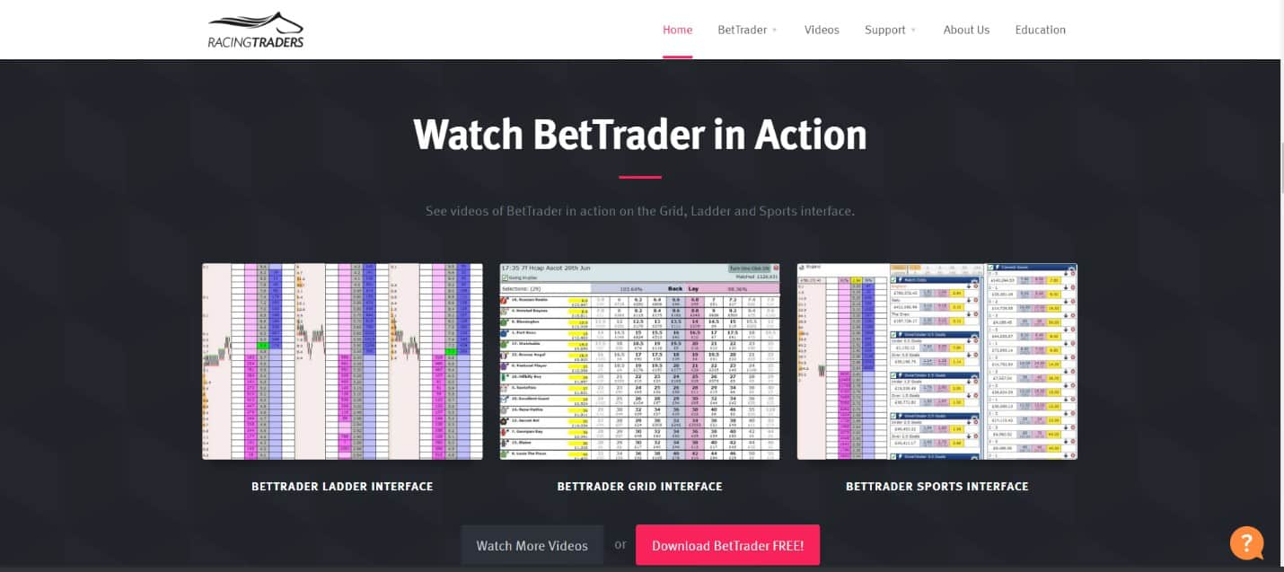 Bet Trader in Action