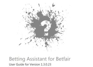 gruss betting assistant manual
